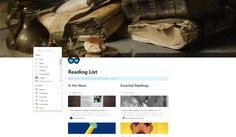 context and add Ui Forms, Reading Lists, Combat Boots, Playlists