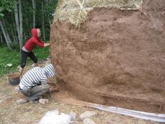 Green, cheap and efficient straw bale dome homes :)