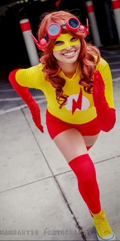 Long Beach Comic Expo 2015 - Kid Flash (genderbend) | Photo: Mambastic Photography | #Rule63 #cosplay