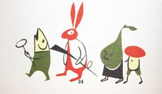 My Vintage Avenue !!! 50's and 60's illustrations !!!: A beautiful Cook Book illustrated by Jacques Ferrand in the 50's