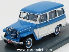 NEO SCALE MODELS NEO44640 1/43 JEEP WILLYS STATION WAGON 1954