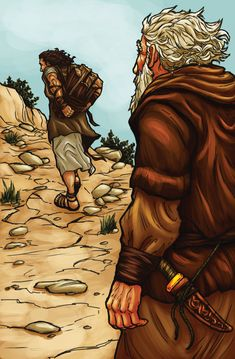 Abraham and Isaac by ~eikonik on deviantART