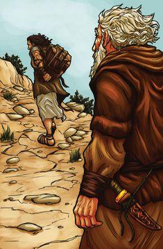 Abraham and Isaac by ~eikonik on deviantART