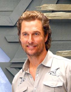 Actor Matthew McConaughey Attends The Dark Tower Photo Call At Whitby Hotel On