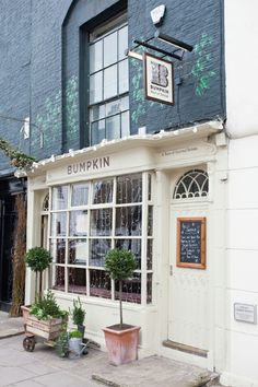 Bumpkin Chelsea - our beautiful restaurant and garden from the outside   www.bumpkinuk.com
