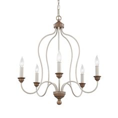 Shop Feiss  F2998/5 Hartsville 5 Light Chandelier at Lowe's Canada. Find our selection of chandeliers at the lowest price guaranteed with price match   10% off.