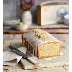 We've transformed a classic G&T into a delicious, moist loaf cake.