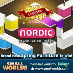 Deluxe seasonal furniture just in time for the Spring up on the Spin to Win wheel!