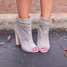 The Kristin Cavallari for #ChineseLaundry Laurel bootie. Gets us every time! @haus131