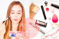 Minimal Summer Makeup | Hello October AD