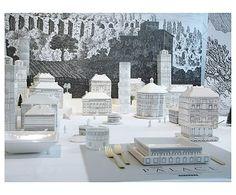 Set de 7 tazas y jarra de leche Palace - altura 29 cm