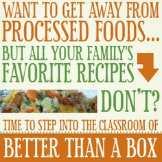 Better Than a Box - Day 14: Healthy Family Meal Plans (with a whole-foods recipe!)