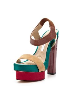 Toy Sandal by Diane von Furstenberg on Gilt.com