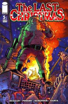 Cover for The Last Christmas (Image, 2006 series) #5