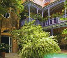 La casa colonial de Lina Botero en Colombia                              …