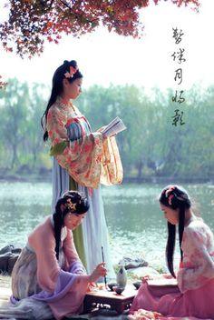 【写真資料集】漢民族の民族衣装「漢服」:女性 - NAVER まとめ
