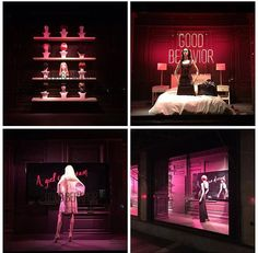 "SAKS FIFTH AVENUE, New York, ""Good Behavior"", (Because a girl can dream), pinned by Ton van der Veer"