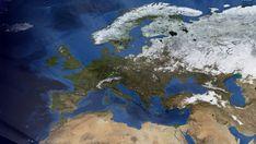 Kosketa tätä kuvaa: Euroopan ilmastoalueet by e-Oppi