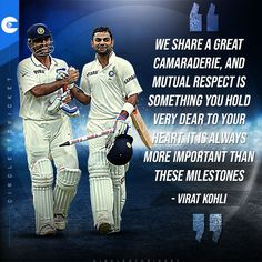 Virat Kohli can become the most successful Test skipper in India when he leads #TeamIndia in the pink-ball Test. #INDvENG Cricket Quotes, Mutual Respect, Virat Kohli, Famous Quotes, India, Baseball Cards, Pink, Famous Qoutes, Goa India