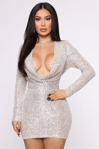 Keep Shining Sequin Mini Dress - Silver – Fashion Nova Satin Mini Dress, Sequin Dress, Bodycon Dress, Curve Dresses, Sexy Dresses, Fashion Dresses, Mini Dresses, Royal Dresses, Black Girl Fashion