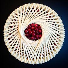 こんなパイ見たことある?  シアトル大学の秘書さんが週末に作る お手製パイがとんでもなく芸術的な件
