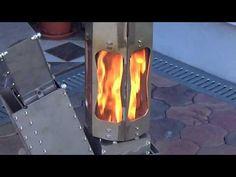 raketenofen - rocketstove - YouTube