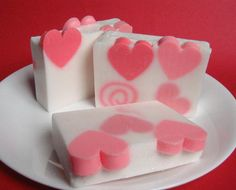 Valentine's Day Heart Soap