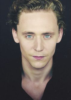 Tom Hiddleston, there's just something about him that I find attractive...
