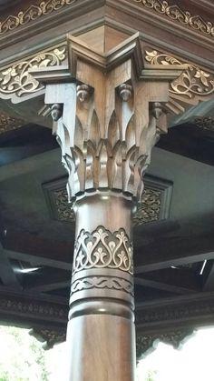 عمود مقرنص -أوزبكستان Islamic Architecture, Classical Architecture, Historical Architecture, Beautiful Architecture, Architecture Details, Interior Architecture, Daena Targaryen, Art Haus, Pillar Design