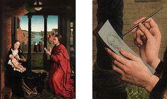Saint Luke Drawing the Virgin, from Rogier van der Weyden, Bruges, Groeningemuseum