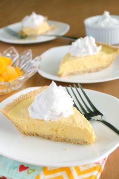 Vegan Frozen Mango Cream Pie - Vegetarian & Vegan Recipes