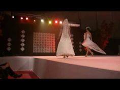 extrait de notre défilé au salon du mariage de la Beaujoire à Nantes en 2013. Des créations d'exceptions pour des mariages d'exceptions!