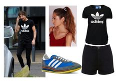 """""""Get The Look: Louis Tomlinson"""" by remigiahernande ❤ liked on Polyvore featuring adidas Originals, Miss Selfridge and Missguided"""
