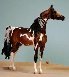 Tumlinson Giselle painted by C. Miniature Horses, Horse Sculpture, Breyer Horses, Equine Art, Horse Art, Beautiful Horses, Tack, Pony, Sculptures