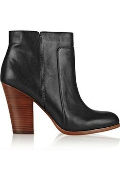 Love the Pour La Victoire Rocker leather ankle boots on Wantering.