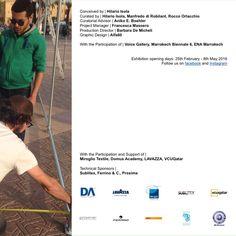 TENTative Structures  Exposition du 25.02.2016 au 08.05.2016 à Marrakech, Place de la Gare, de l'hôtel de ville et Jamaa Lafna