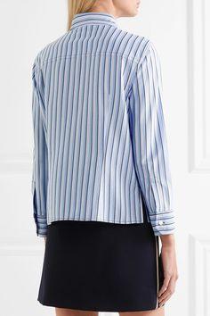 Prada - Striped Cotton Shirt - Blue - IT48