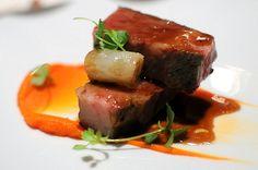 Waygu Short Rib - Potato Confit, Nantes Carrot, Bone Marrow, Coconut Soubise