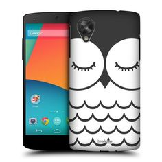 Head Case Designs Olwyn The Owl Cartoon Animal Faces Protective Snap-on Hard Back Case Cover for LG Google Nexus 5 D820 D821 Head Case Designs