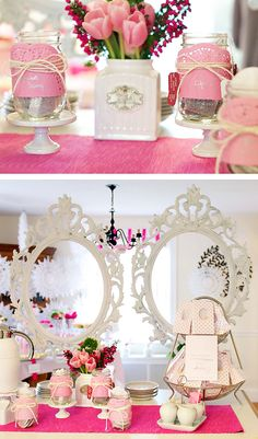 tea party, frame for pictures