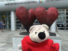 Lost on 13 Aug. 2015 @ Rue Ste-Catherine Montreal QC H3G 1P7. Wolfies latest adventure starts shortly after @mbamtl when somewhere between Ogilvy/Apple in St Katherines and PlaceDeMarieVille Montreal he went missing. he has 10 years of travel memories , bring... Visit: https://whiteboomerang.com/lostteddy/msg/6j06vy (Posted by david on 14 Aug. 2015)
