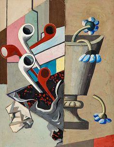 Franciska Clausen   Vase and Pipes (1928)
