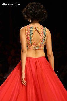 Blouse design - Jyotsana Tiwari India Bridal Fashion Week 2013