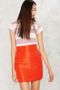 Vintage Versace Damn Bright High Waisted Skirt | Shop Vintage at Nasty Gal!