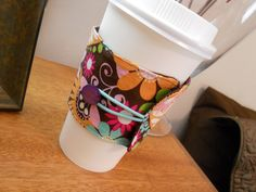 How to make a fabric coffee cozy…Instructions by: Rachael LindsayLevel: BeginnerTime: Less than an hourTopic: SewingThese coffee cozies are so fun and unique. These are an absolute favorite i…