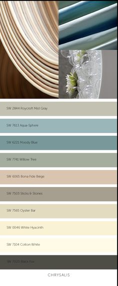 2015 Colormix color forecast by Sherwin Williams - Chrysalis