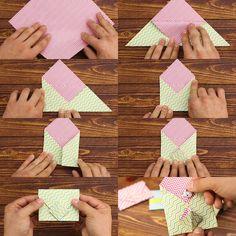Lovely wrapper (envelope), handmade