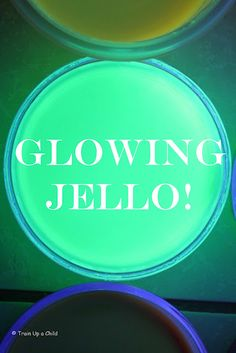 Glowing JELLO Experiment-Which jello gives off the strongest glow?