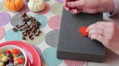 How To Make a Needle Felted Acorn. Andie Powers of Assemble Shop & Studio in Seattle teaches us how to make a needle felted acorn. Perfect f...