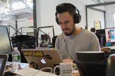 Photos by Derek Scancarelli    Hey look, Mike Shinoda a.k.a. the coolest rapper from Linkin Park and Fort Minor came to our office to hang out because Noisey...
